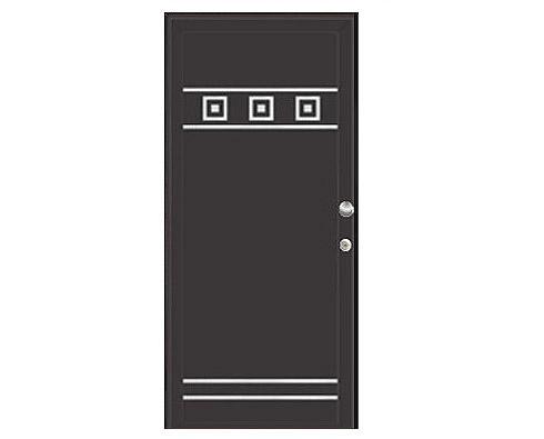 Kućna aluminijska protuprovalna vrata