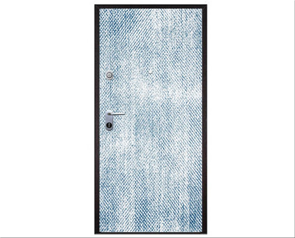 Fire resistant security entrance doors