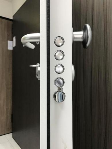 Fire resistant door for apartments