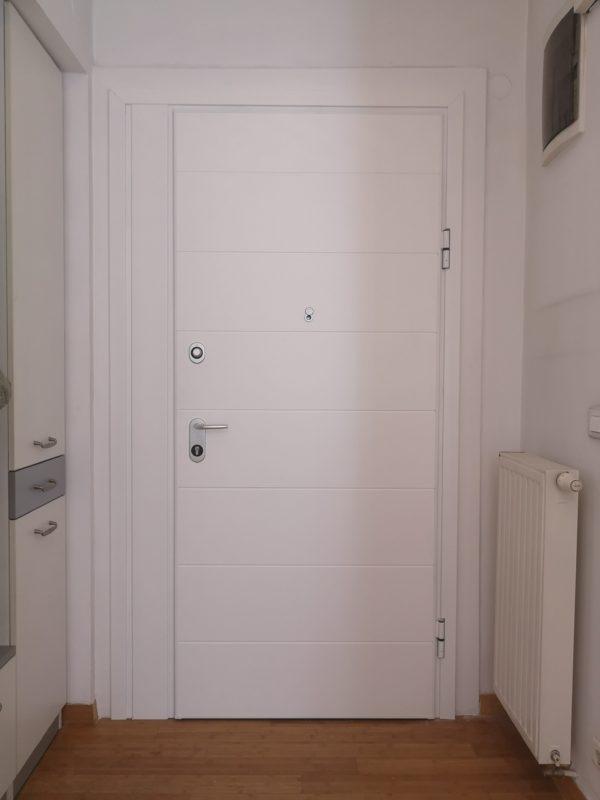 Protuprovalna vrata s bočnim fixerom - ugradnja u postojeći futer štok