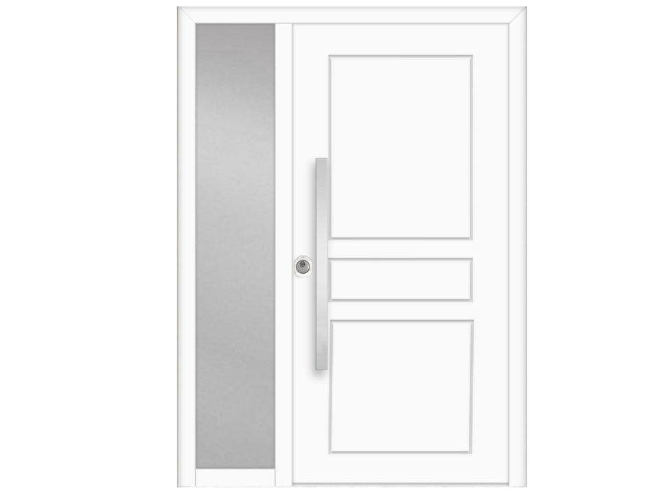 Protuprovalna vrata za kuću s bočnim fikserom