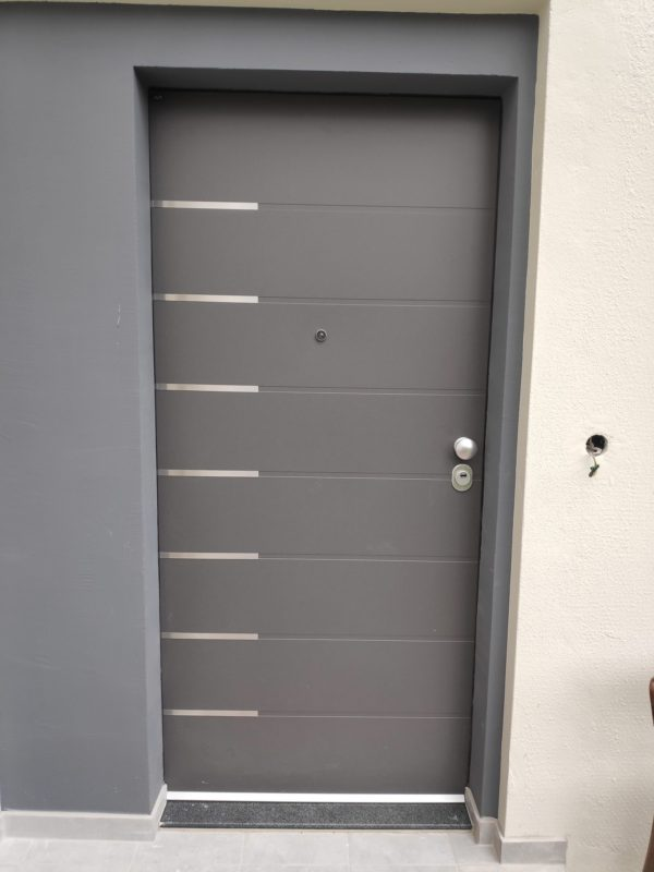Security doors for external use