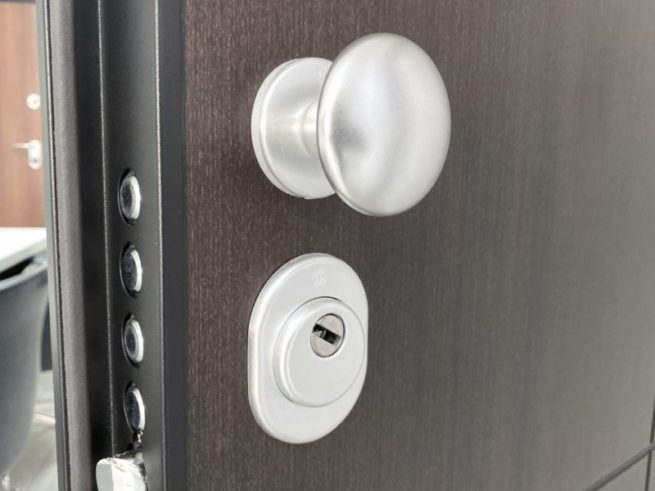 Securemme ironmongery - fixed knob