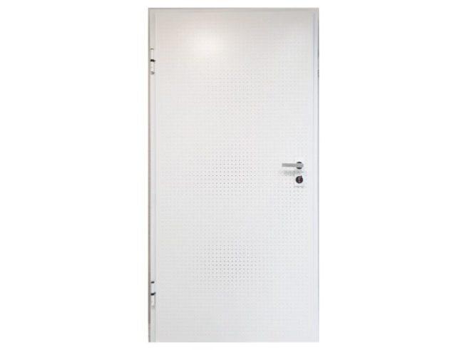 Security doors - white