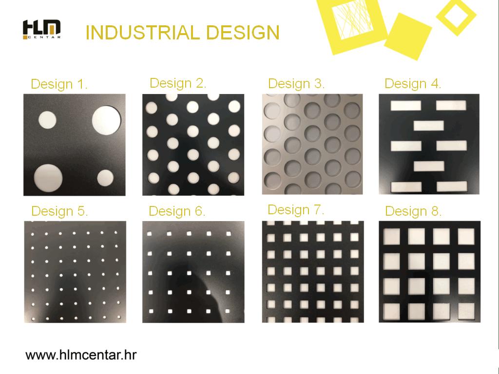 Industrial design options