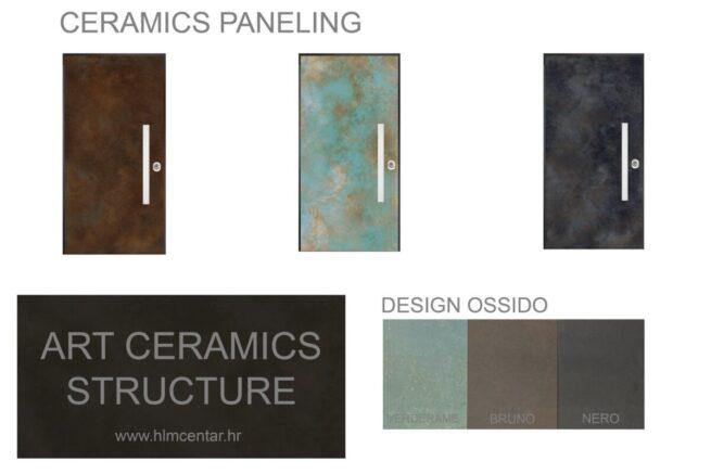 ART Ceramics structure Ossido