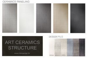 Filo Art ceramic paneling