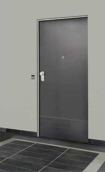Fire resistant smokeproof door EI2 60
