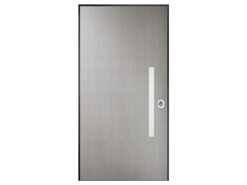 Security doors ART Filo Argento