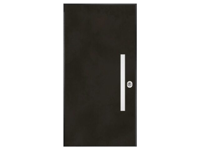 Protuprovalna vrata - Art metalik - black