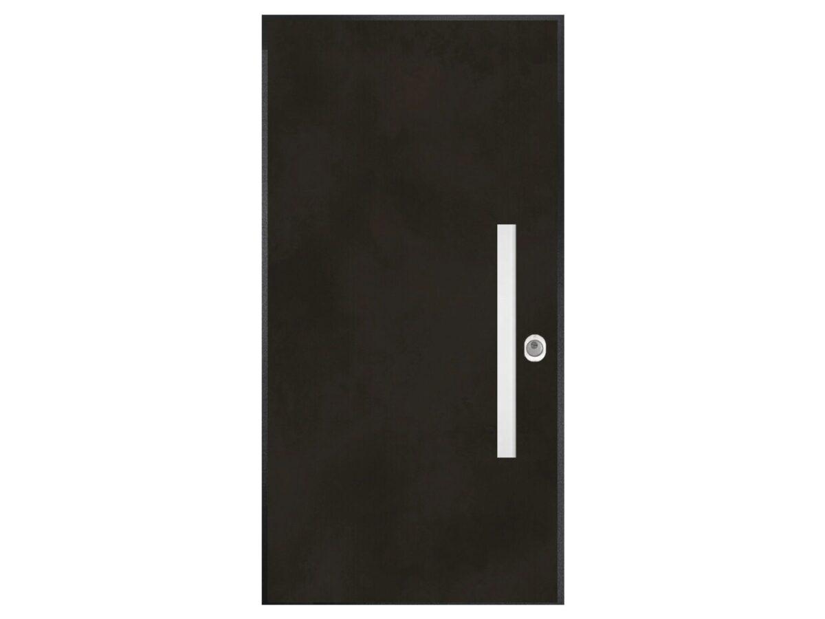 Security door - Art metallic - black