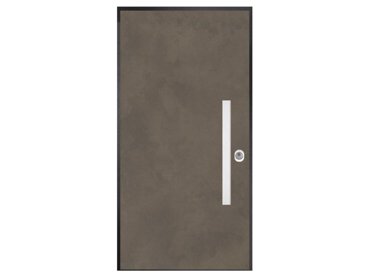 Protuprovalna vrata - Art metalik - bronce